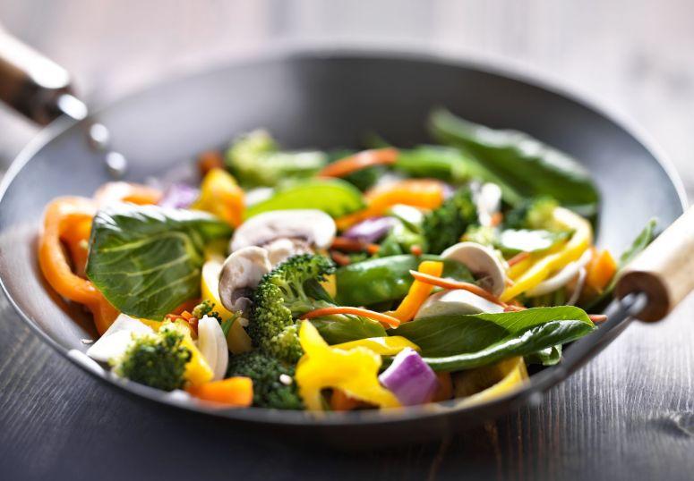22457671 - vegetarian wok stir fry